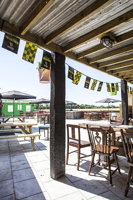 The Hatchet Inn Beer Garden